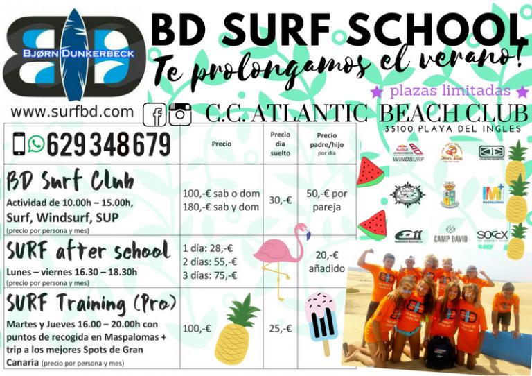 BD SURF SCHOOL Club