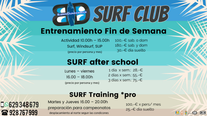 BD SURF SCHOOL Club