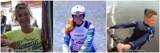 female winner Dunkerbeck speed Challenge